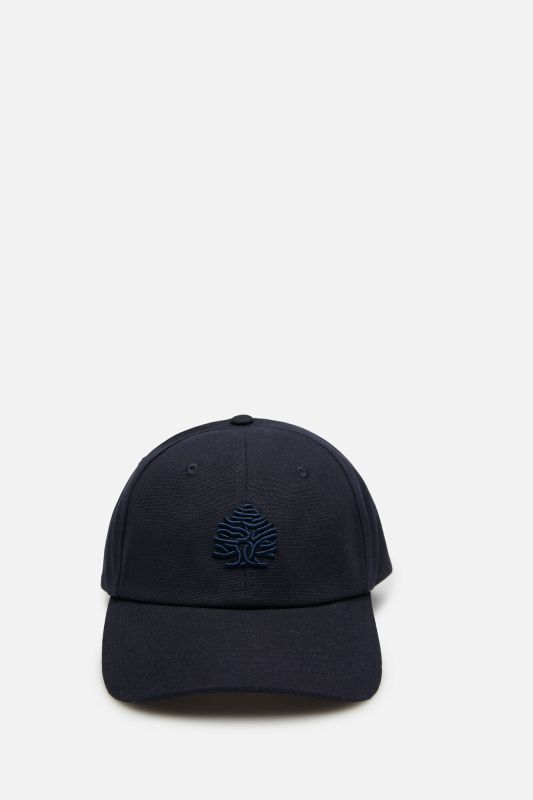 Essential embroidered logo baseball cap