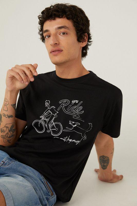 Bike line T-shirt