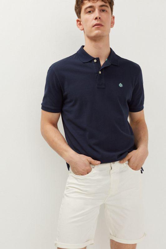 19 pocket slim distressed Bermuda shorts