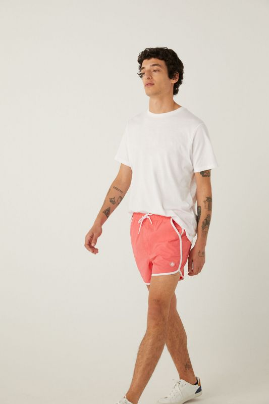Rocky style nylon swimming shorts