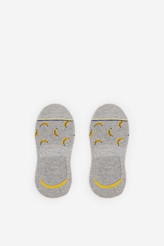 Bananas invisible socks