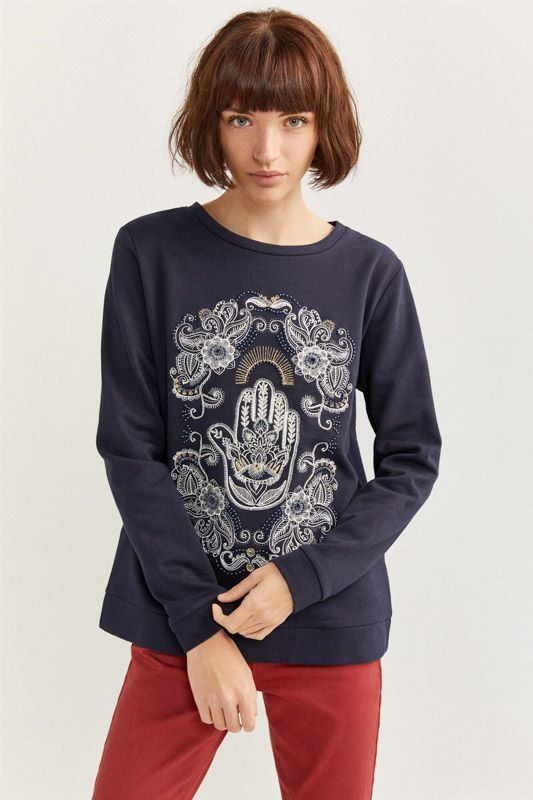 HAND OF FATIMA SWEATSHIRT