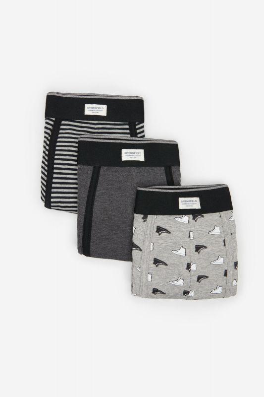 3-pack sneakers print boxers
