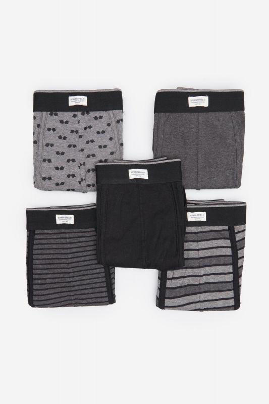 5-pack sunglasses print boxers