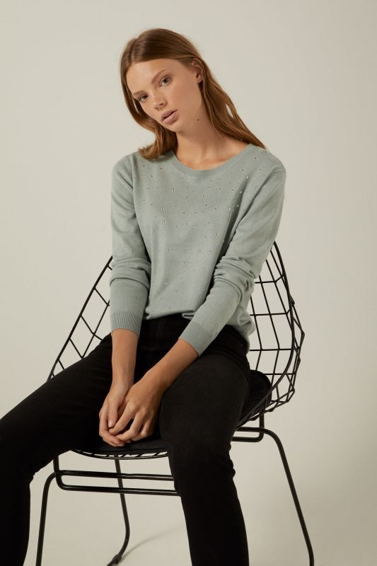 Pearl front jumper