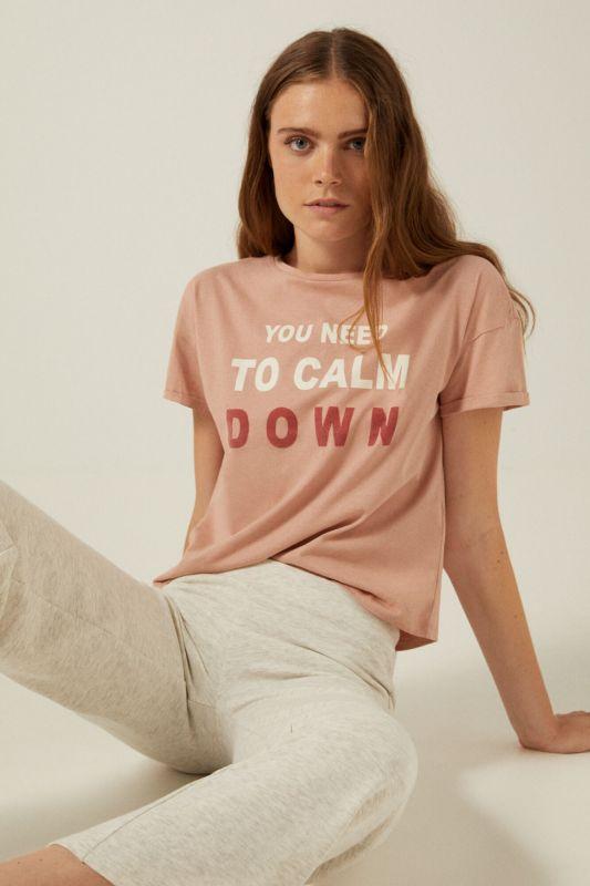 Organic cotton You Need to Calm Down T-shirt