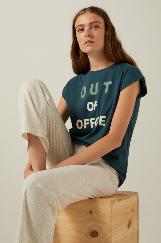 Organic cotton Out of Office T-shirt