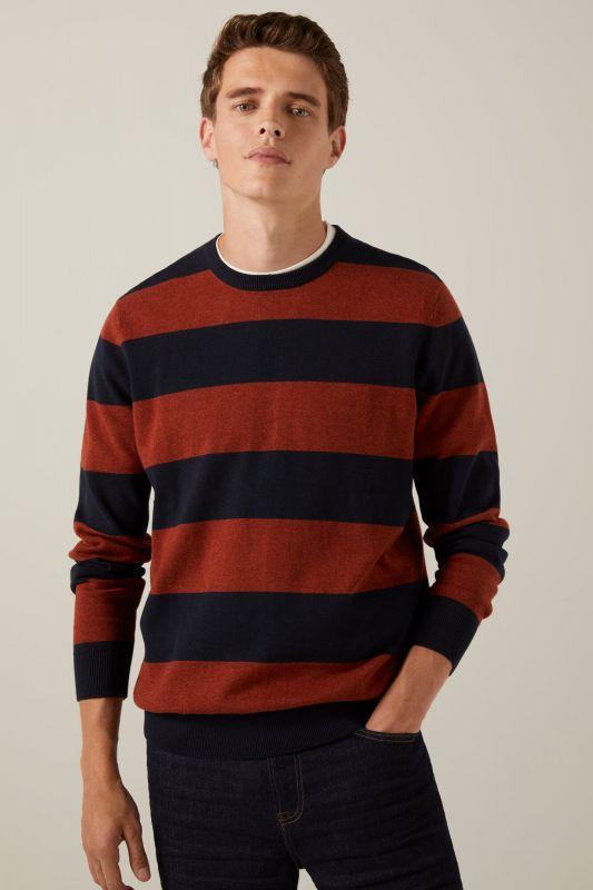 Kodak stripe jumper