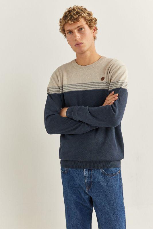 Essential colour block jumper