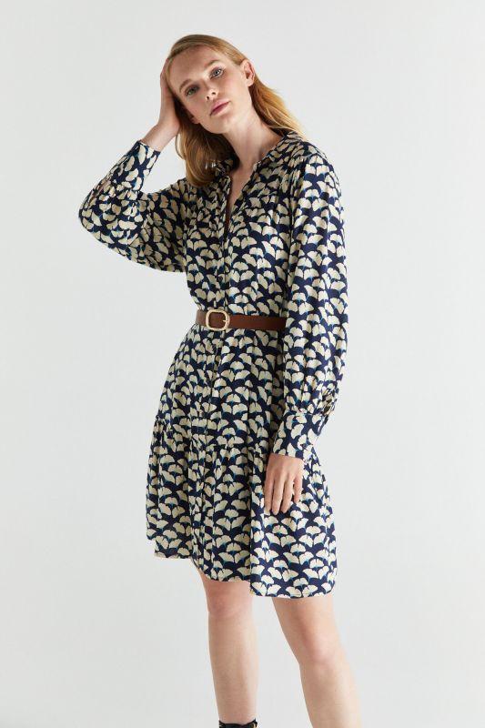 Sustainable fabric shirt dress