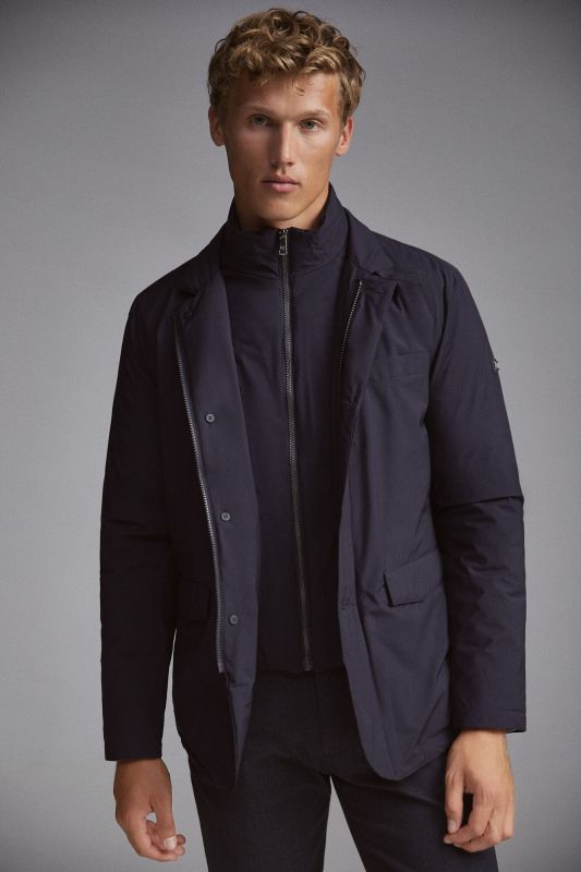 Ultralight travel jacket with lining
