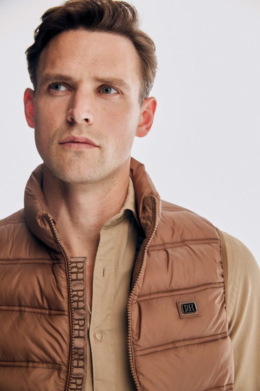 Ultralight quilted gilet