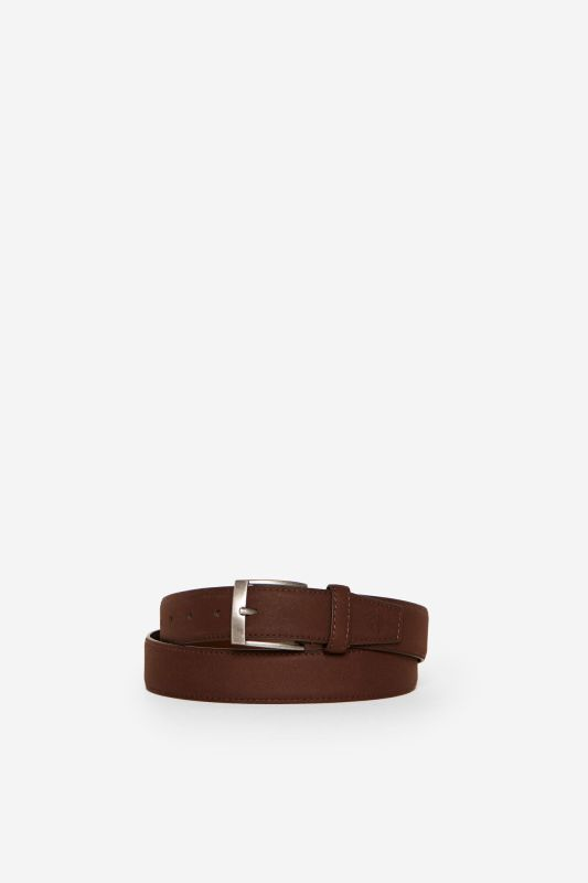 Essential faux leather belt
