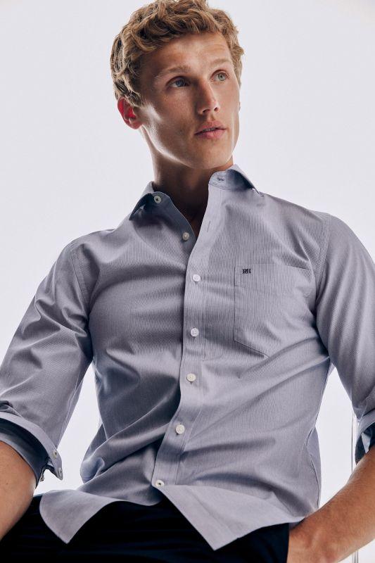 Plain soft Non-Iron cotton shirt