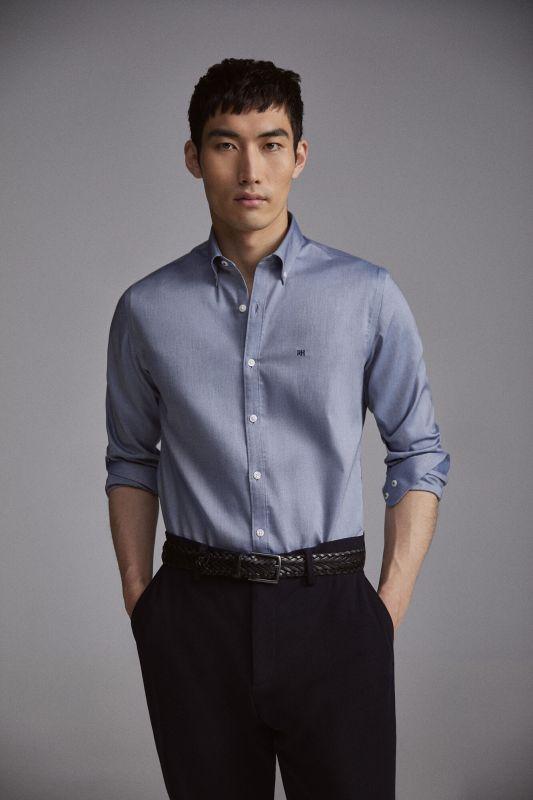 Plain slim fit TX Protect shirt