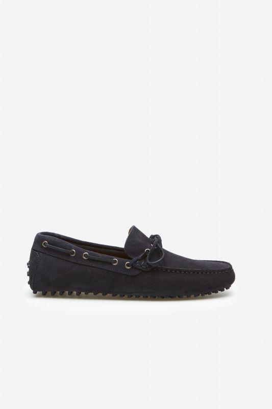 Studded sole loafer