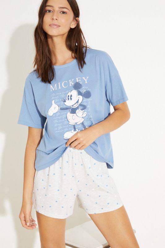 Short cotton pyjamas