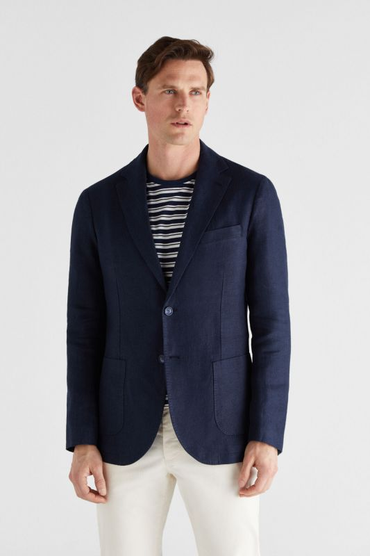 BLAZER IN WASHED LINEN