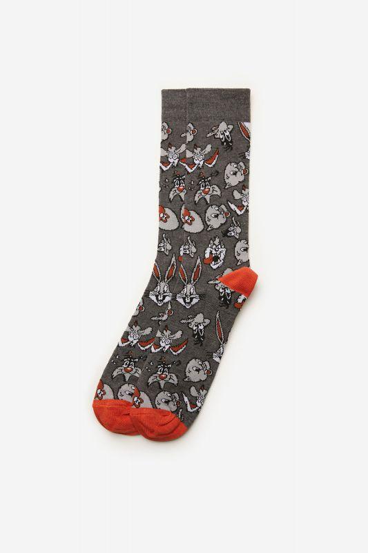 Looney Tunes motif socks