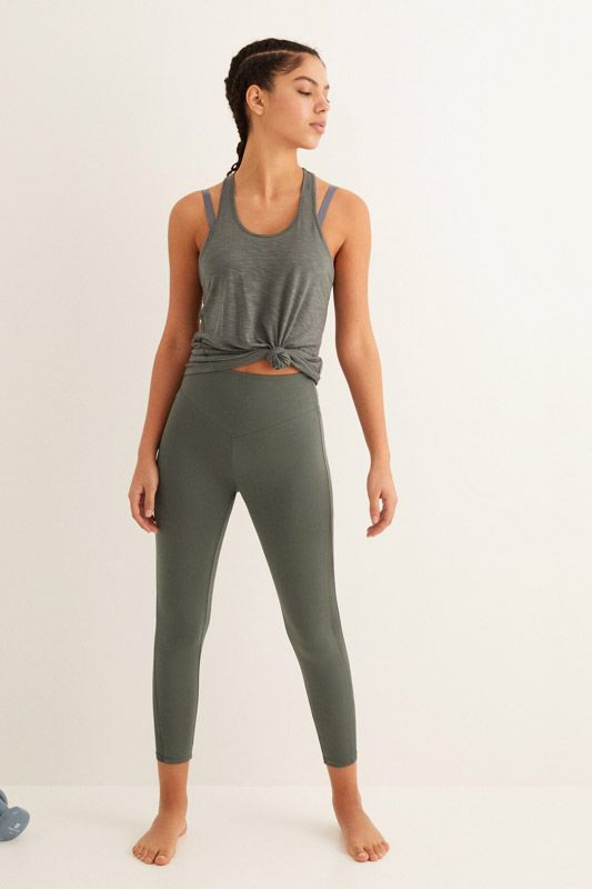 ANKLE LENGTH HIGH WAIST LEGGINGS