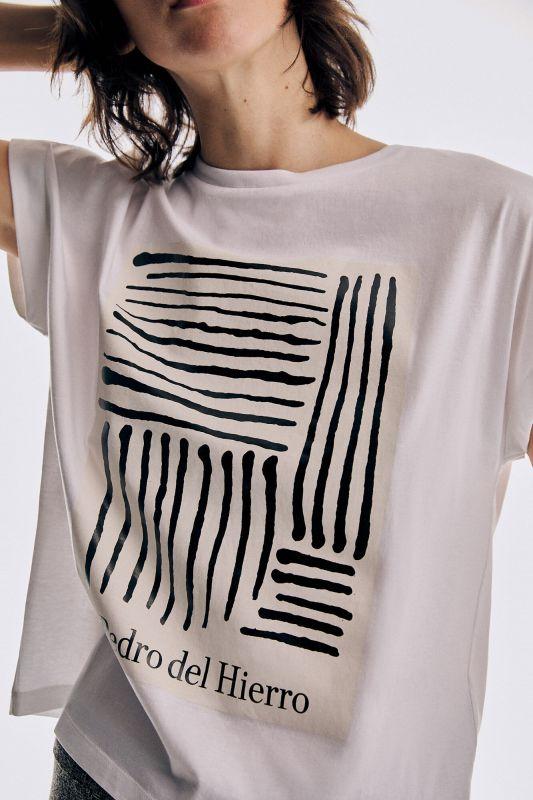 Short-sleeved crew neck loose T-shirt