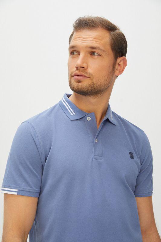 Short-sleeved logo polo shirt