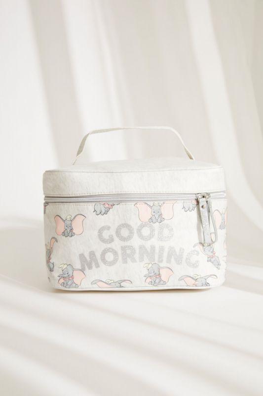 Large grey Dumbo briefcase vanity case
