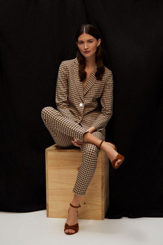 Super comfort fabric blazer