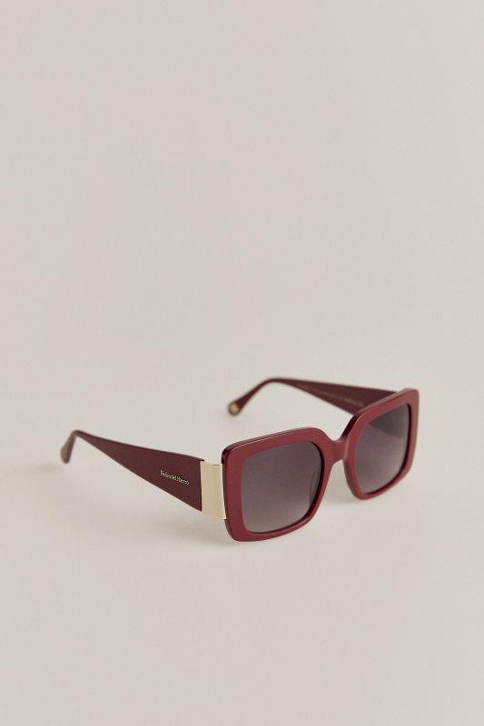 Maroon maxi sunglasses