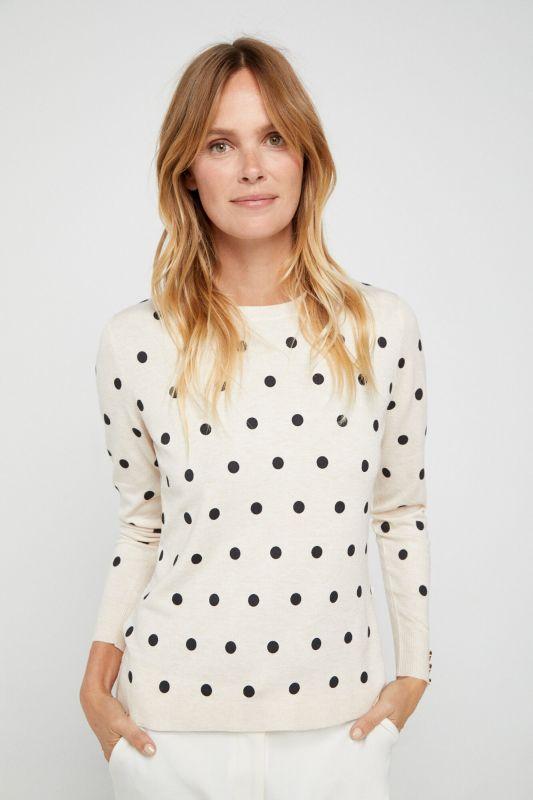 Polka-dot jumper