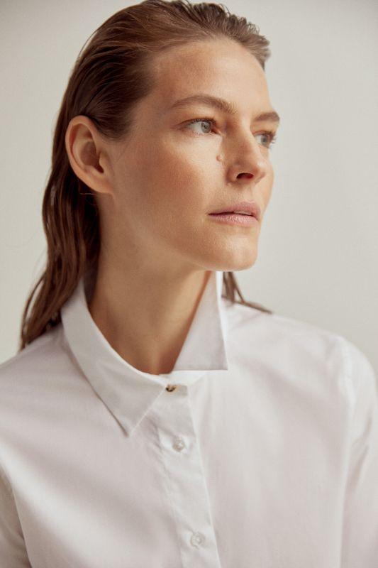 Essential poplin blouse