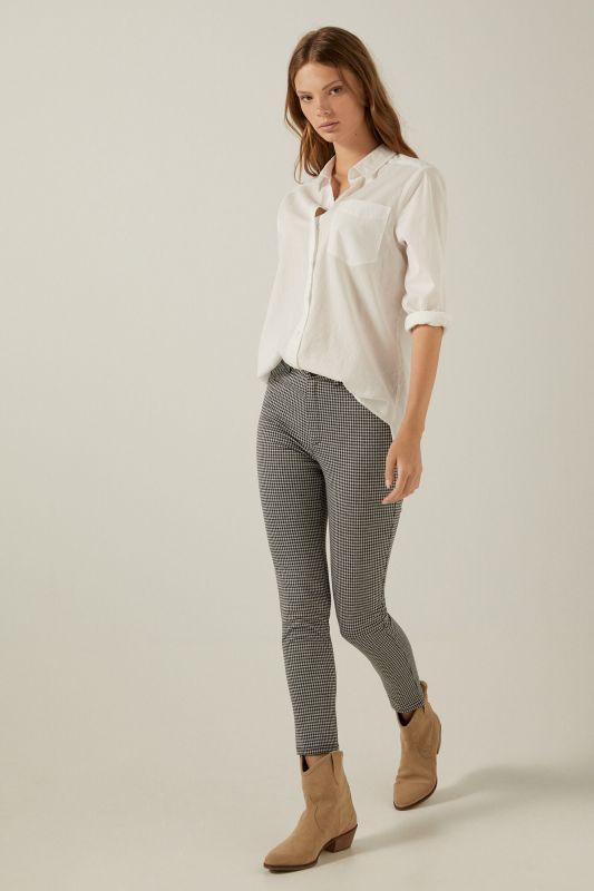 Jersey-knit skinny trousers