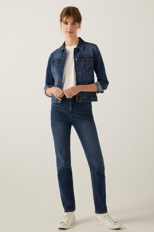 Sustainable Wash Straight Organic Cotton Jeans