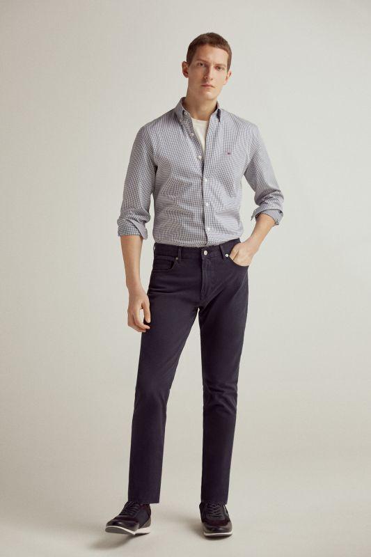 Coloured slim fit 5-pocket TX Protect premium flex jeans