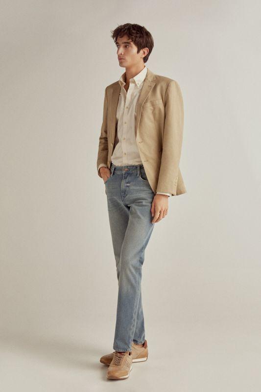 Premium Flex Slim medium wash jeans