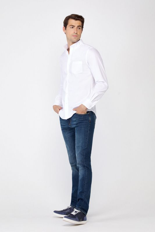 Slim dark wash jeans