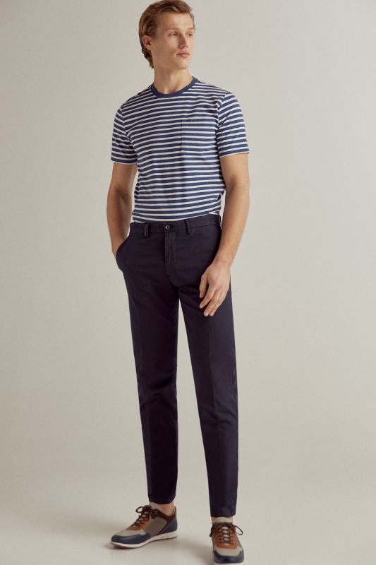 Essential slim fit pima chinos