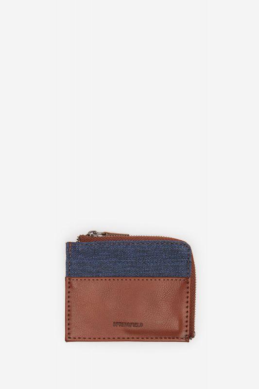 Combination fabric purse