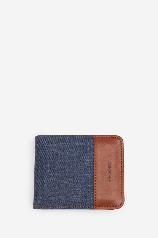 Combination fabric wallet