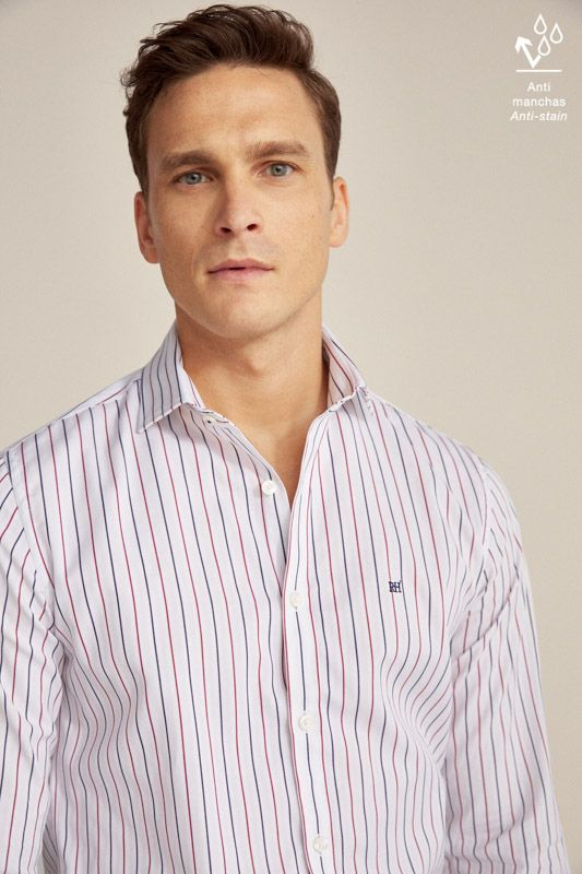 STRIPED TRAVEL COLLECTION SHIRT