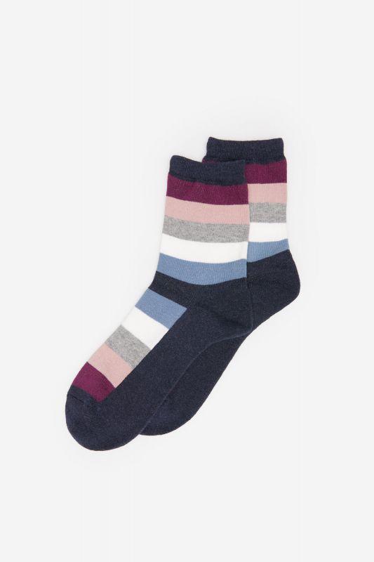 Multicoloured Stripes Socks