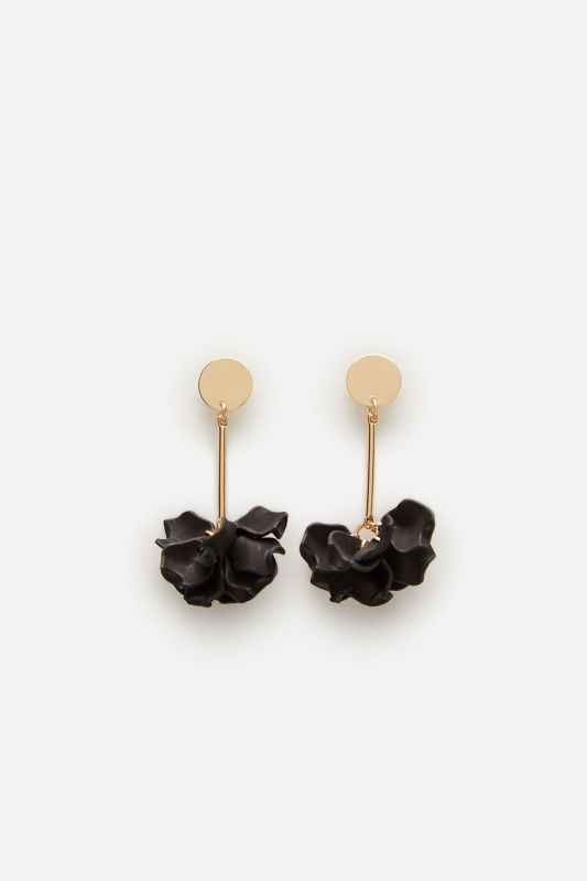 Flower petals earrings
