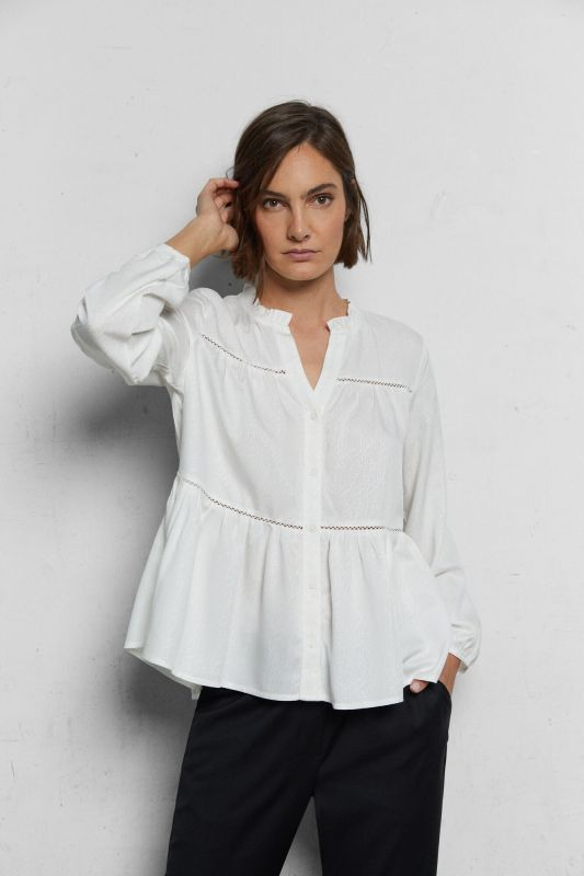 Sustainable fabric blouse